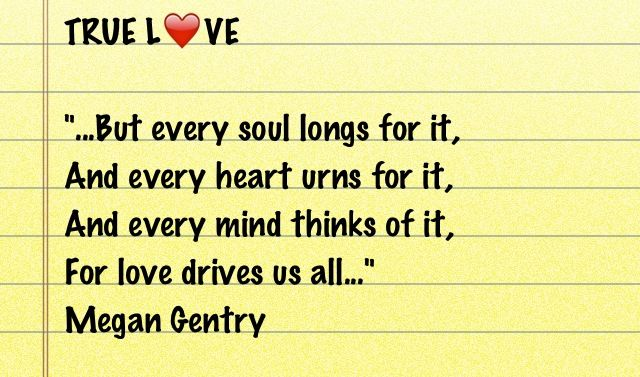Here's a short stanza from my poem titled