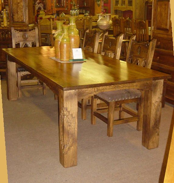 Southwest Mexican Dining Tables Dining Table Table Furniture
