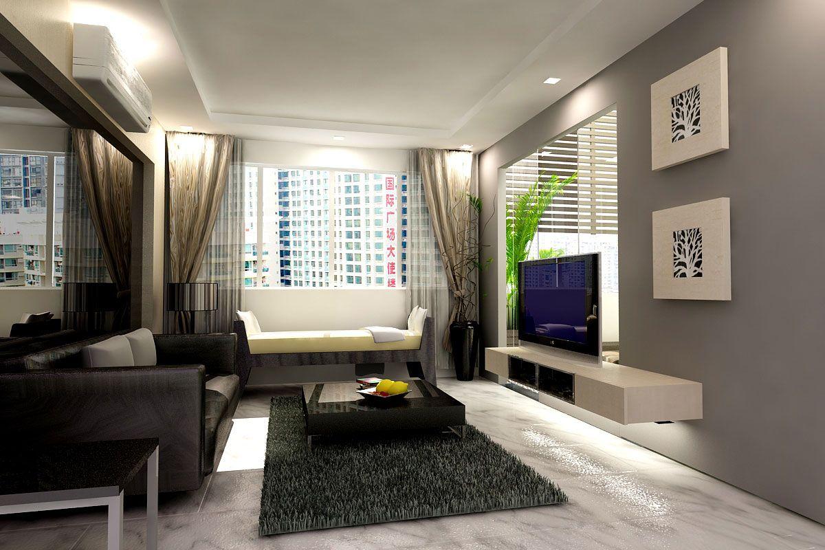Color printing tamu - Ruang Tamu Minimalis Modern Elegan Untuk Rumah Minimalis Http Www
