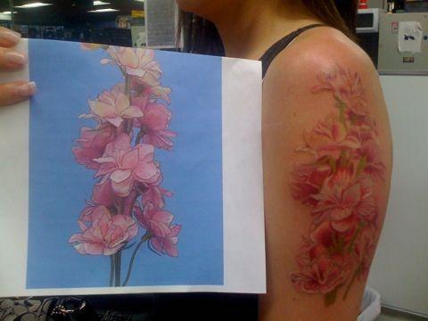 Different Types Of Violet Violet Tattoo Violet Flower Tattoos Violet Flower
