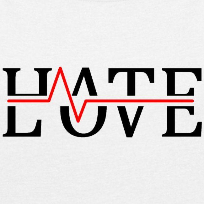 , Hate Love Hass Liebe Herzschlag Geschenk Idee   Frauen T-Shirt mit gerollten Ärmeln, Travel Couple, Travel Couple