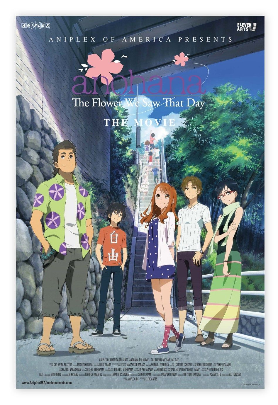 anohana:The Flower We Saw That Day,TV Series,TV anime poster,Canvas poster