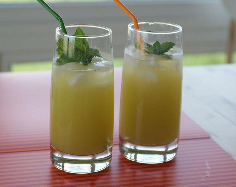 мятный напиток