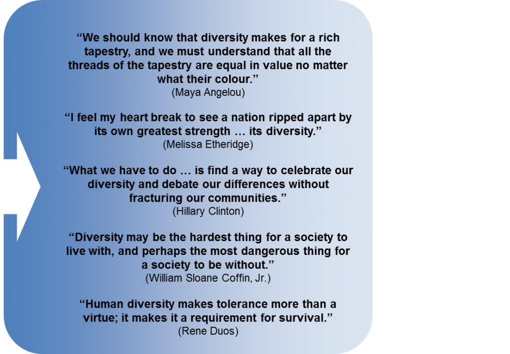 value of diversity in todays society