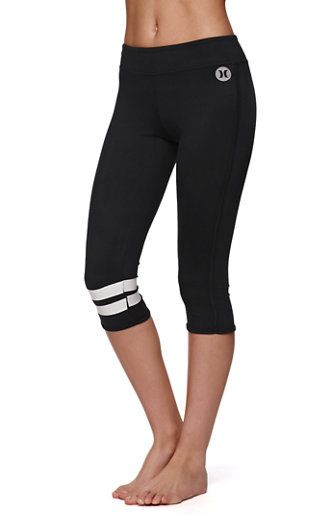 Hurley Beach Active Dri-Fit Cropped Leggings at PacSun.com ...
