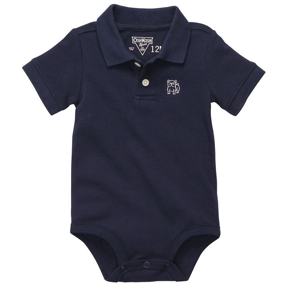 Kohls Baby Boy Clothes Best Dress Him Up With A Oshkosh B'gosh Polo Bodysuit#kohls  Baby On Inspiration