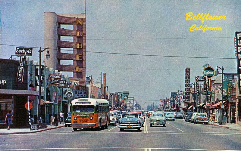 Nubel Theater Bellflower Ca Bellflower Bellflower California Vintage Los Angeles