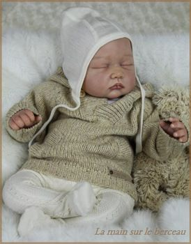 Aliexpress.com  Comprar Vinilo suave realista kits de muñecas reborn vinilo  suave como la silicona baby doll parts cabeza brazos y las piernas traje  para ... bd7edf1e1453
