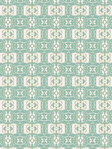 Checkered Past - Green PRIMA Wallpaper by Eskayel