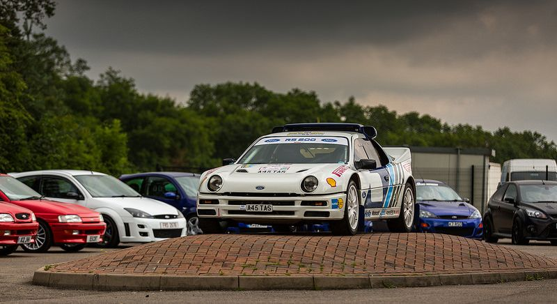 Ford Rs200 Evolution Rs Owners Club National Day 2014 Donington