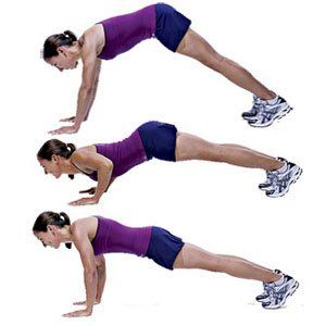 Cobra Hindu Push Up With Your Hands On The Floor Just Wider Than Your Shoulders And Legs Slightly Wider Than Hips Wa Arm Workout Tone Arms Workout Exercise