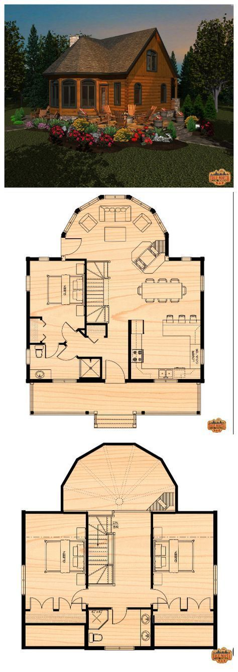 Cottage Life Special Two Storey Dream House Plans House Floor Plans Cottage Plan