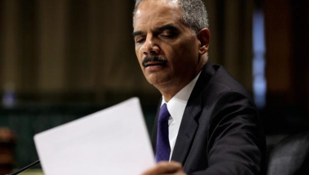 Eric Holder declares war on the 10th Amendment