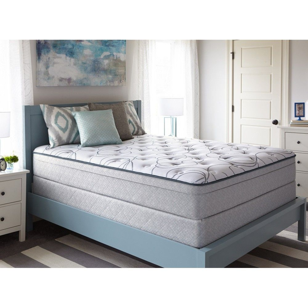 Sealy Tropic Water Plush Mattress Set - Full (51196040MID) | Conn\'s ...