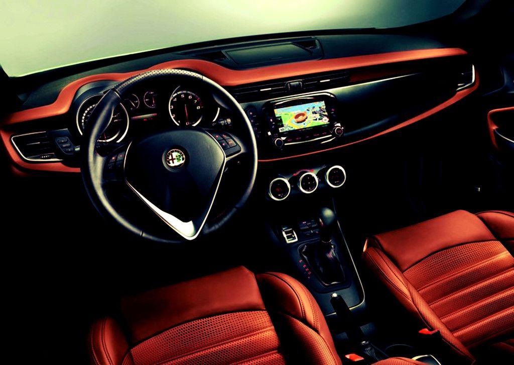 2016 Alfa Romeo Giulia Interior Autos