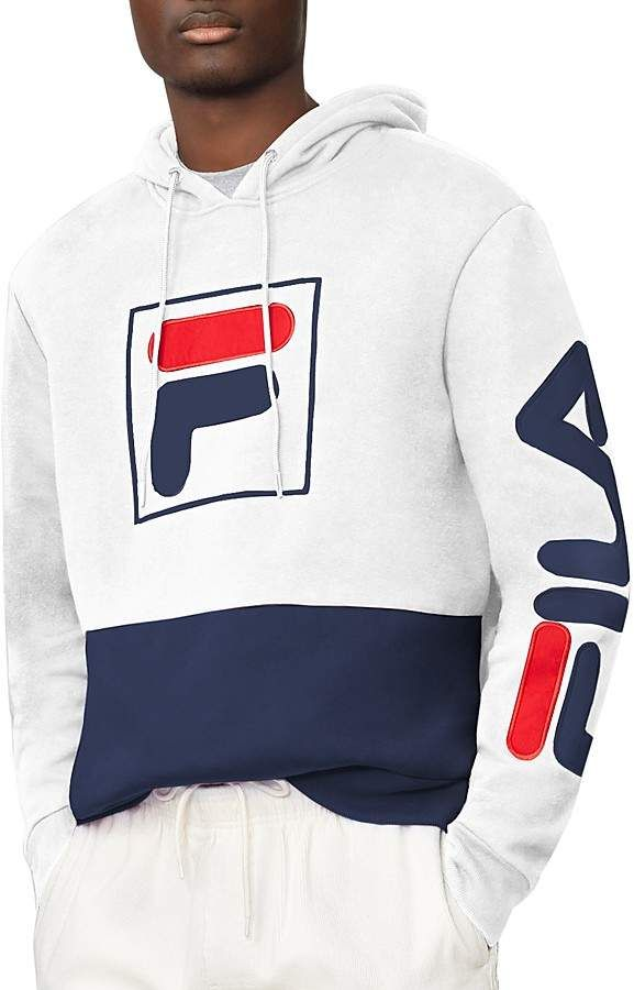 FILA Tony Color-Blocked Logo Pullover Hoodie  fila  hoodie  fashion ... dbf1dc4eddb