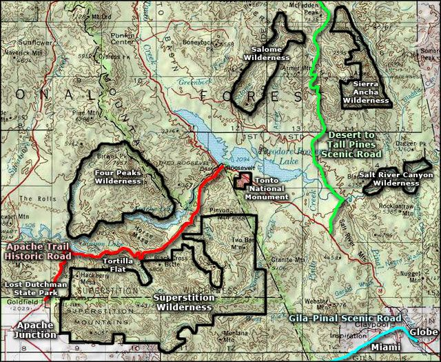 Supersion Wilderness area map | Apache Junction ... on map of white mountain area, map of laughlin casinos, map idaho mountains, arizona major mountains, map of az, map california mountains, location of superstition mountains, new mexico map with mountains, map utah mountains, map of nevada,