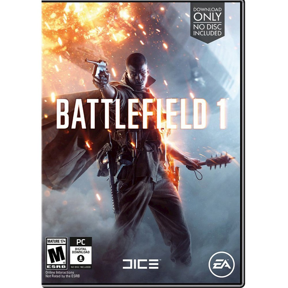 Battlefield 1 Email Delivery (PC Game) Battlefield 1