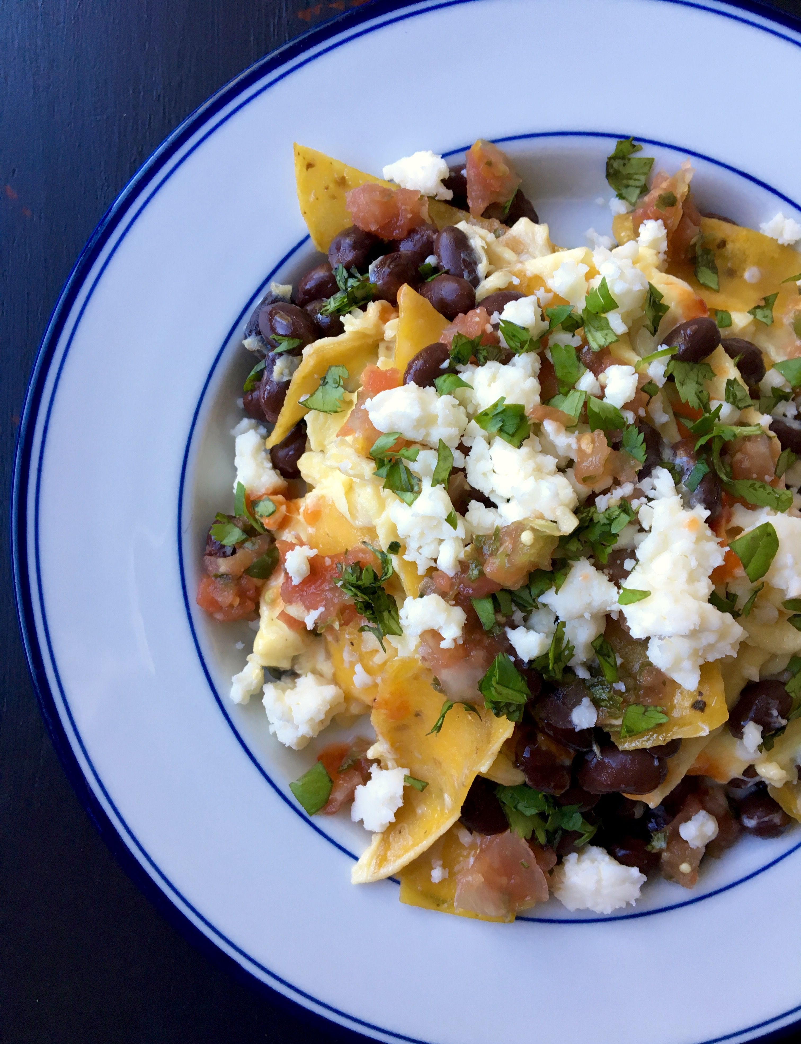 Migas with Black Beans & Cotija | Living Healthy in Seattle