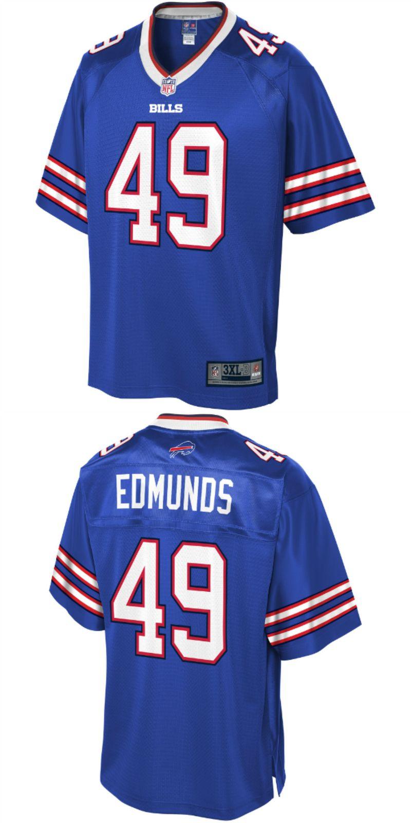outlet store 08422 cdefb Tremaine Edmunds Buffalo Bills NFL Pro Line Big & Tall ...
