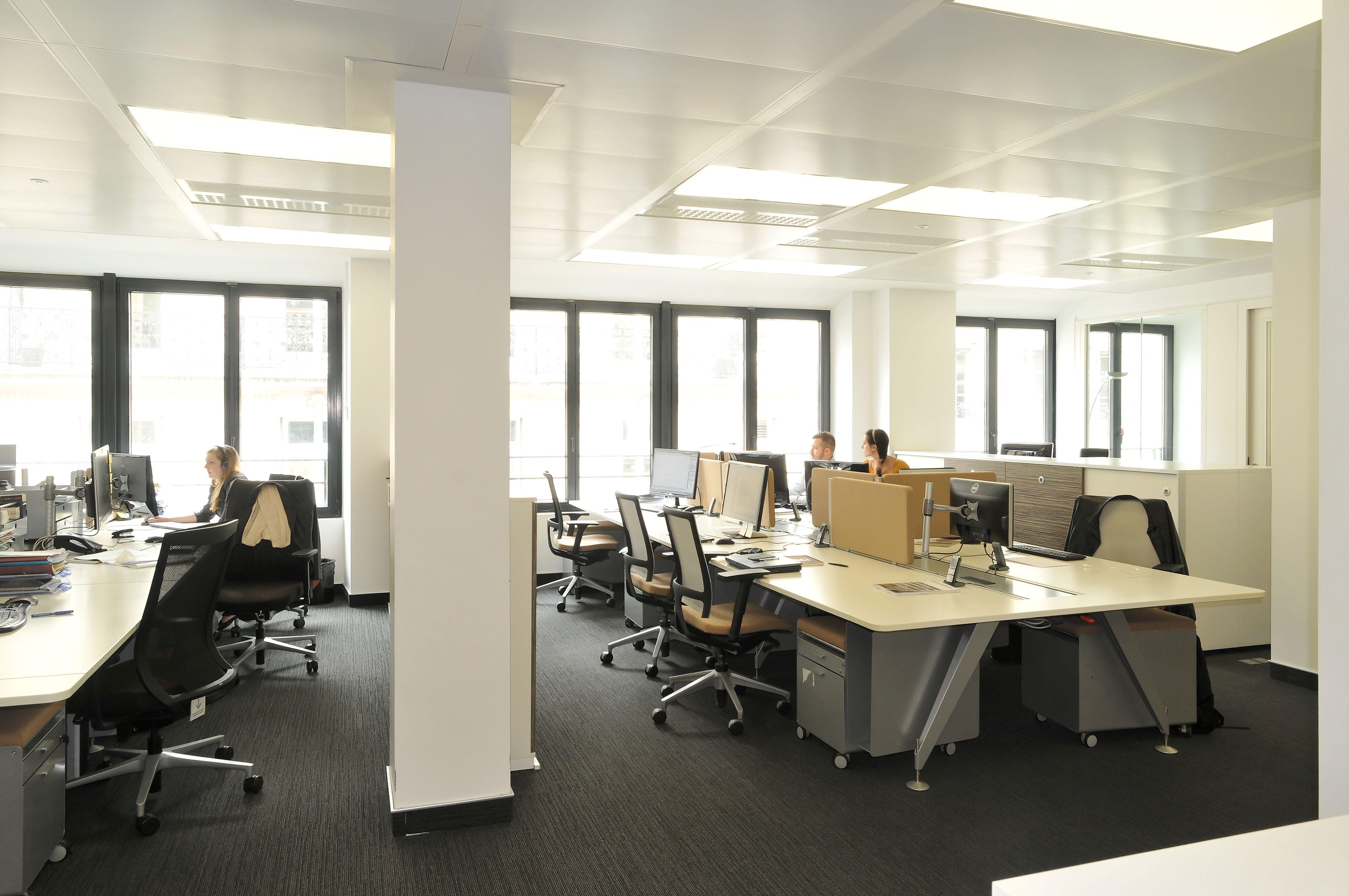 Aménagement open space par cléram. #style #design #bureau