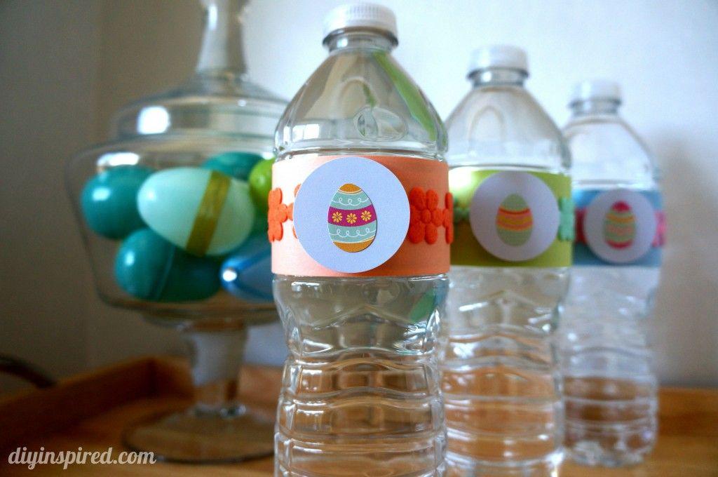 Arrowhead Holiday Water Bottles » DIY Inspired
