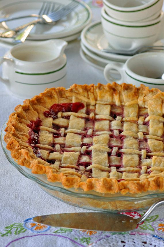 Washington's Cherry Pie Recipe, Cherry Pie Recipe,