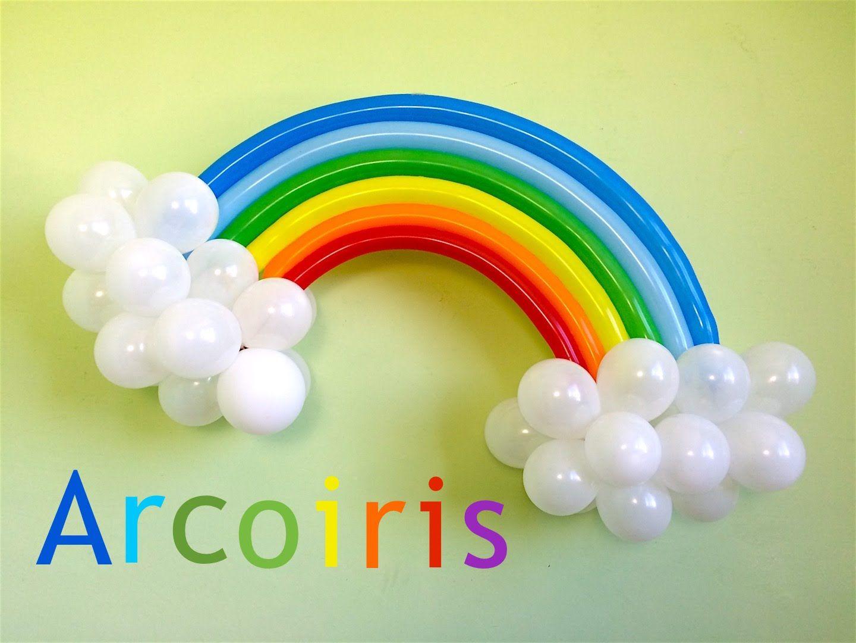 Como hacer un arcoiris con globos para decoraciones my - Bombas de cumpleanos ...