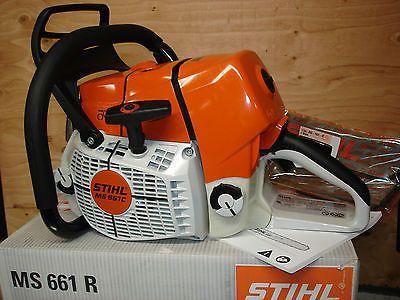 Stihl Ms661 Wrap Handle Handlebar Ms 661 Powerhead Replaced The