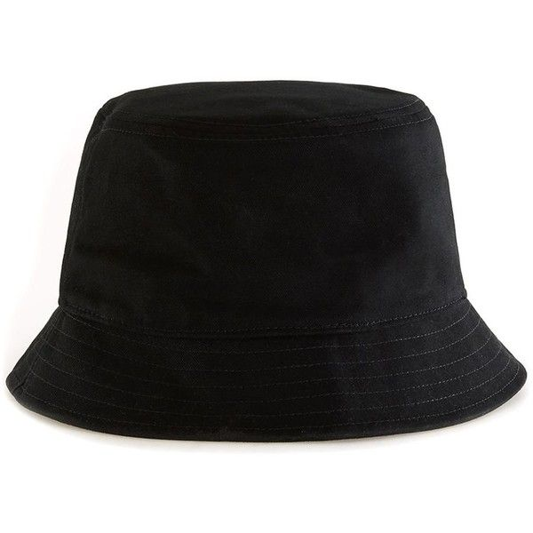 TOPMAN Calvin Klein Black Bucket Hat (390 CNY) ❤ liked on Polyvore  featuring men s fashion 7fee46743e2