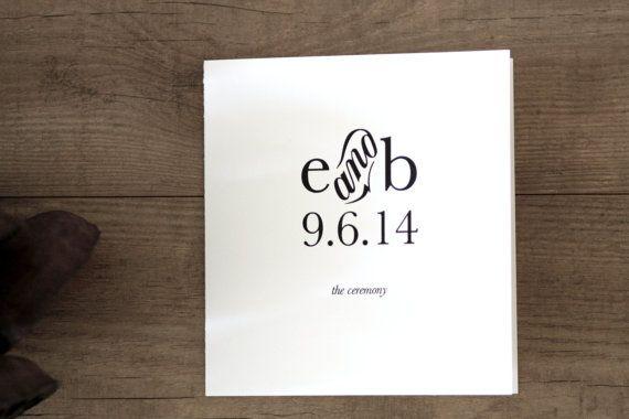 printable storybook romance wedding program cover diy