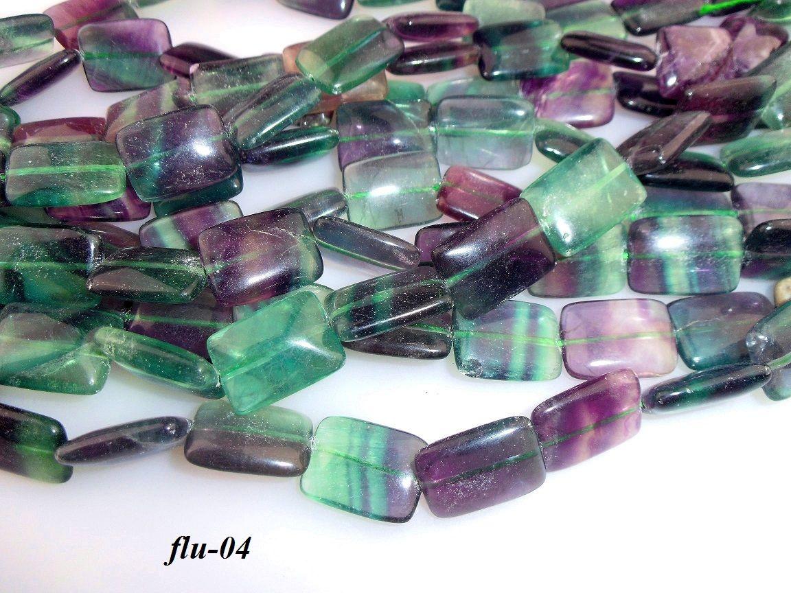 Fluorite beads fluorit korálky 13x18mm