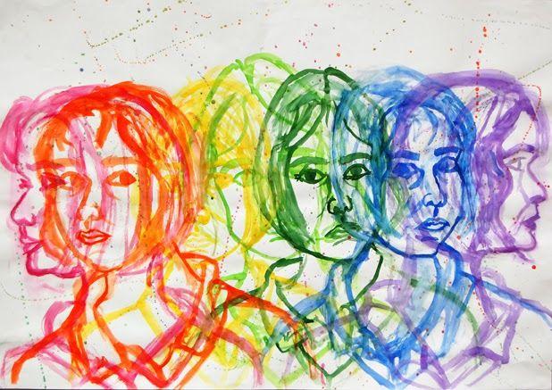 Wychwood Art: Nina Williams Art GCSE | Gcse art sketchbook, Identity art,  Art sketchbook