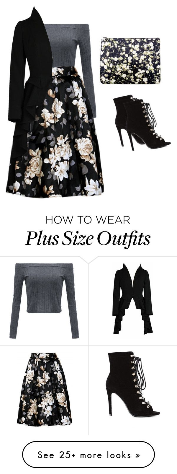 """""""Winter floral"""" by safireblue23 on Polyvore featuring Givenchy"""