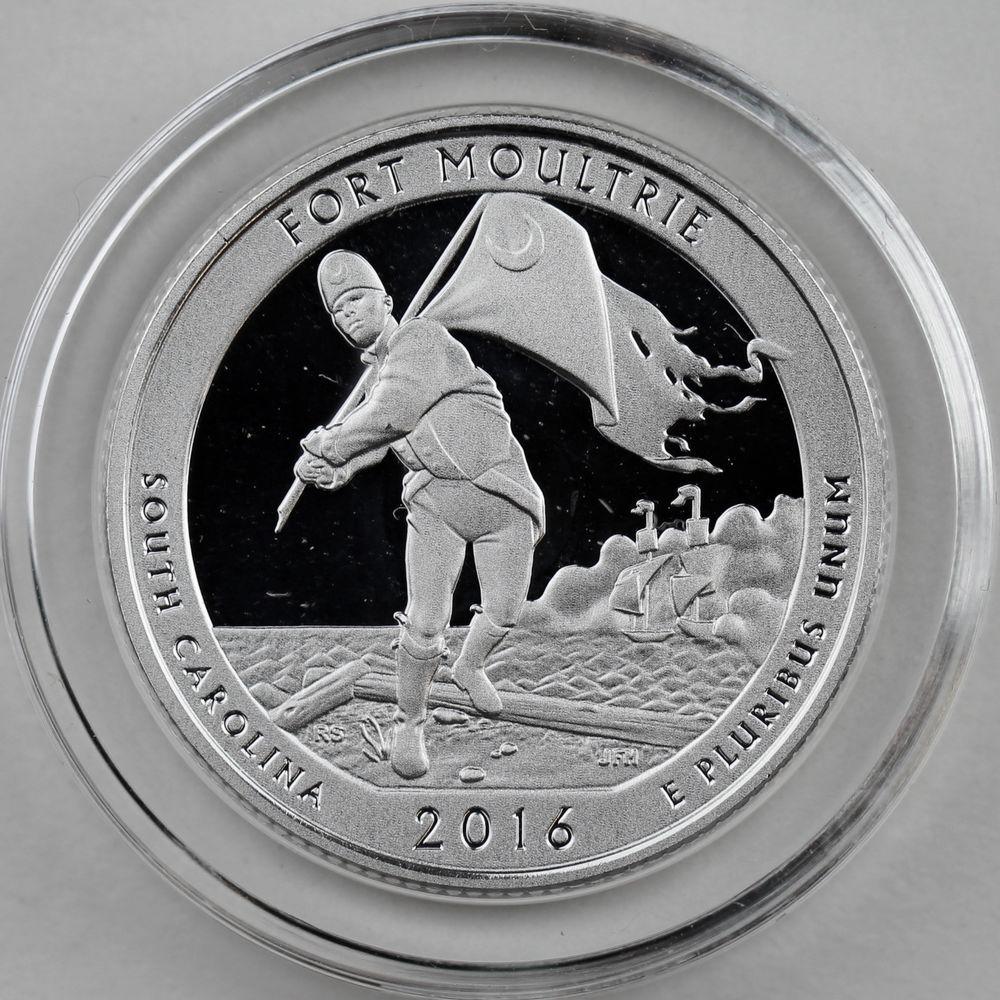 2016-P Harpers Ferry National Historical Park Quarter 5 oz Silver Specimen Coin
