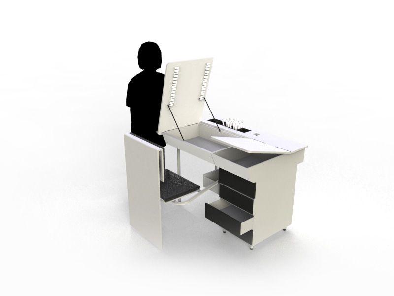 Design - alexisfournier-design        Création mobilier pour le - dessiner sa chambre en d