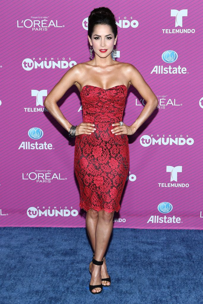 See All the Style From the Blue Carpet at the 2015 Premios Tu Mundo ...