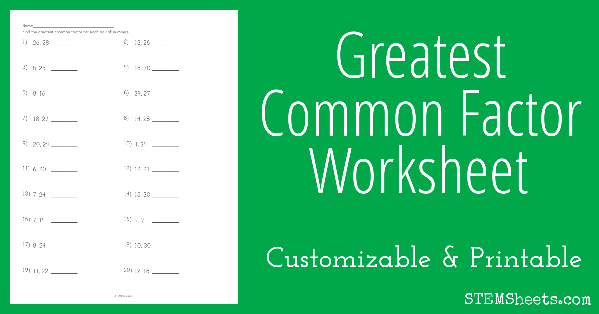 Create custom printable worksheets for your student or child to ...