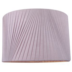 Colours lainie mauve v pleat light shade d300mm mauve and lights colours lainie mauve v pleat light shade d300mm departments diy at bq aloadofball Image collections
