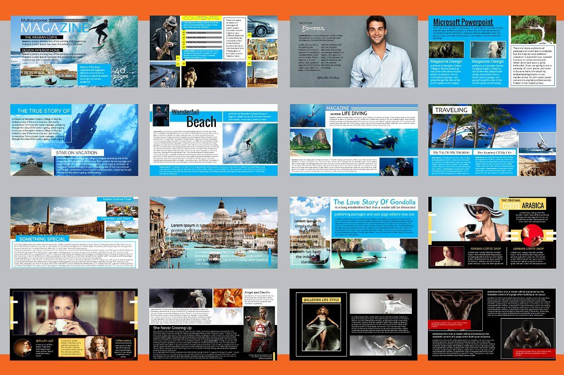 Powerpoint magazine template by orlin on creativemarket 2016 powerpoint magazine template by orlin on creativemarket alramifo Gallery