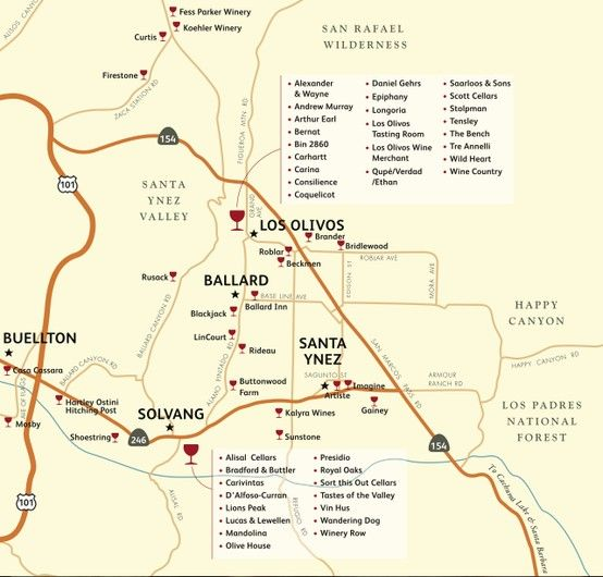 Tour the wineries around Solvang and the Santa Ynez Valley Solvang