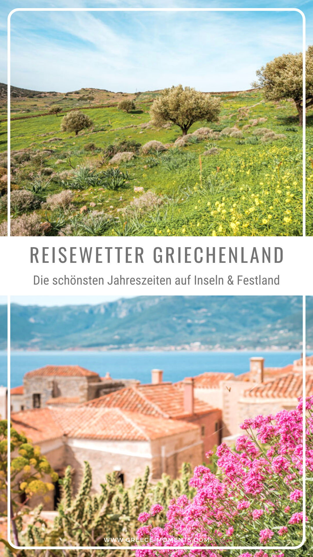 Beste Reisezeit Griechenland Das Wetter Auf Inseln Festland Beste Reisezeit Griechenland Reisen