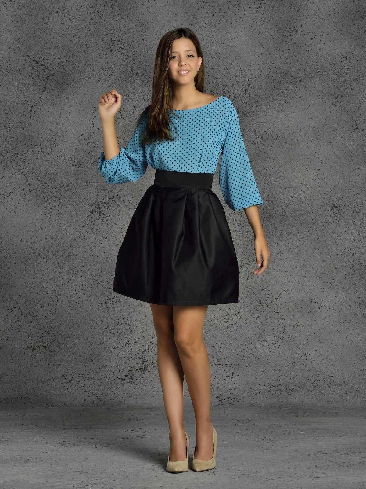 bbb7744a6 Falda Ava. Falda de fiesta con efecto globo.   ideas ropa en 2019 ...