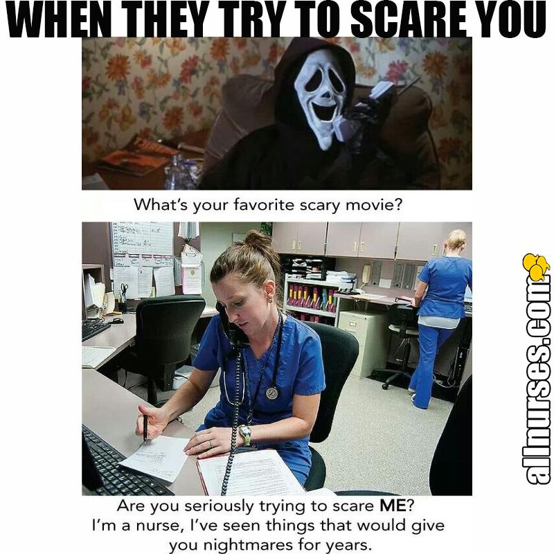 Happy Halloween to all the nurses! Nurse jokes, Nursing