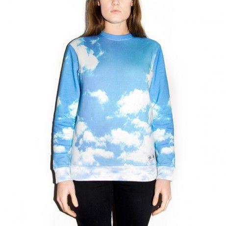 CLOUD DISTRICT unisex sweater Made on 100% cotton #cloud #district #blue #white #summer #dream #breakingrocks