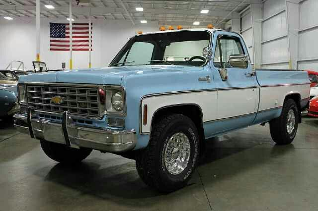 76 K10 I Have Discovered That This Paint Is Called 1976 Chevrolet