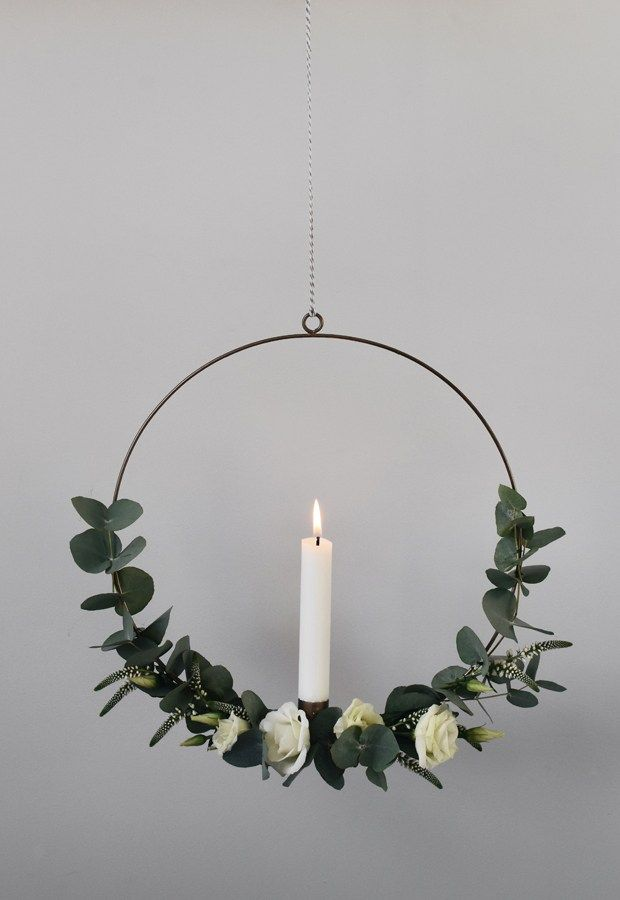 Photo of How to make a minimalist Christmas wreath   These Four Walls