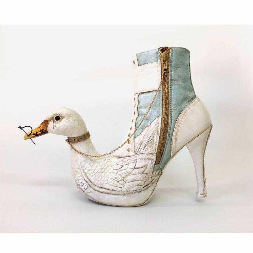 new product 9ab66 2bdd9 Costa Magarakis , Shoe sculpture #artpeople | Schuh ...