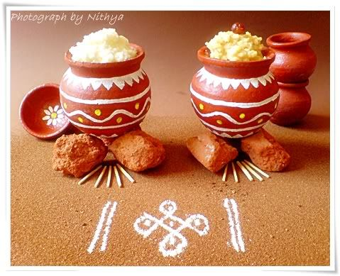 Miniature pongal pot decor | Sankranthi...Pongal ...