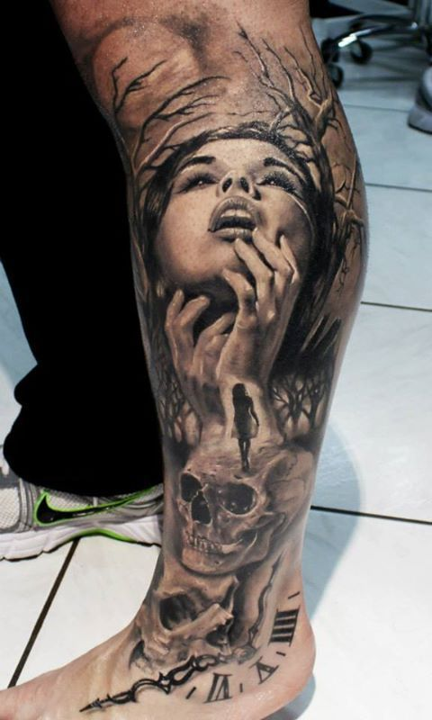 55 Awesome Mens Tattoos Mens Tattoos Pinterest Tattoos Leg